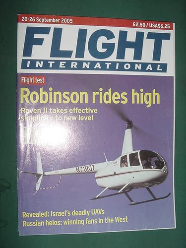 revista flight internat 9/05 importada aviones aviacion