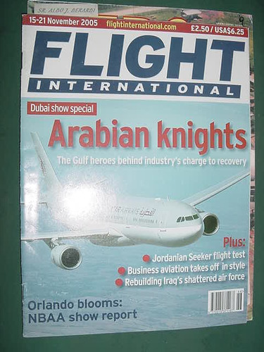 revista flight international 11/5 importada aviones aviacion