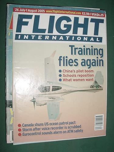 revista flight international 7/05 importada aviones aviacion