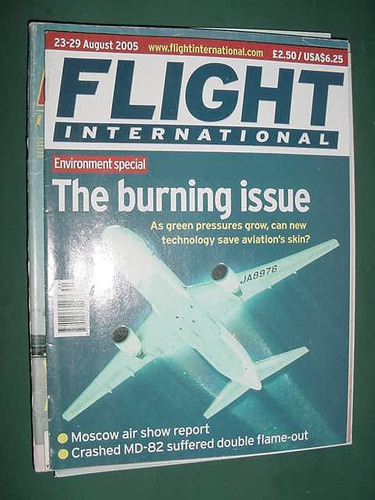 revista flight international 8/05 importada aviones aviacion