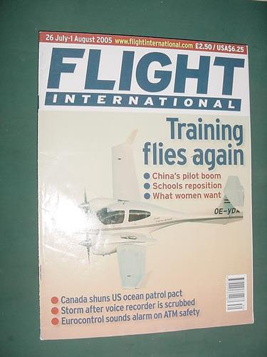 revista flight international ago/05 aviacion aviones canada