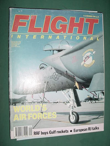 revista flight international d/90 importada aviones aviacion