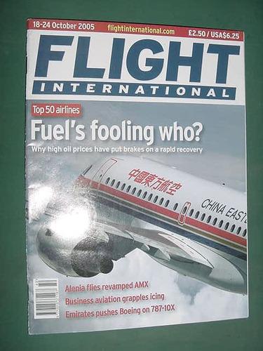revista flight international oct/05 aviacion aviones alenia