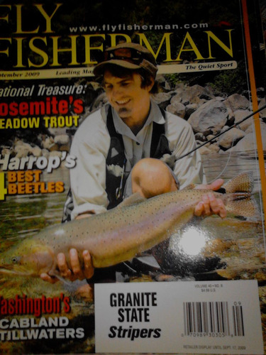 revista -  fly fisherman- un ejemplar.sep.2009