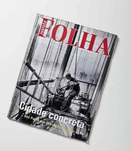 revista folha # 29 de setembro 1996 - cidade concreta