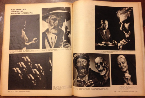 revista fotografia universal año 1967