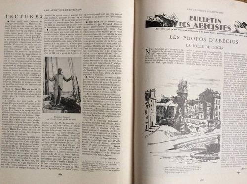 revista francesa abc artistique & littéraire n°68 de 1930