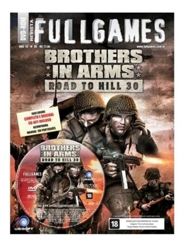 revista fullgames: brothers in arms: road to hill 30 para pc