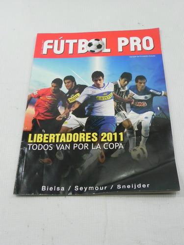 revista futbol pro copa libertadores 2011