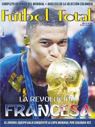 revista fútbol total -  edición 214