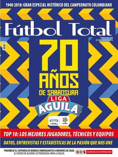 revista fútbol total -  edición 215