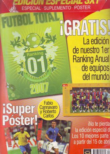 revista futbol total especial los 10 mejores jugadores