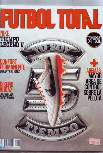 revista futbol total guía clausura 2014  calendario mundial