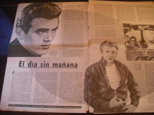 revista galanes de cine homenaje a james dean(775