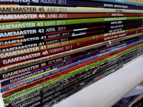 revista game master varios numeros 2010-2013