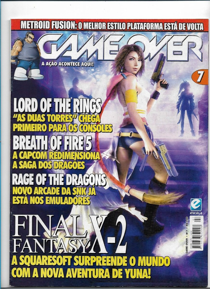 Revista Game Over 7 Lord Of Rings Final Fantasy