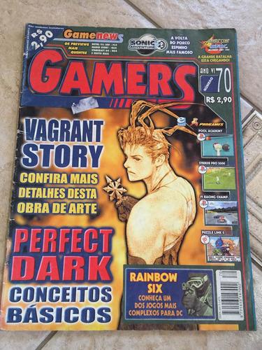 revista gamers 70 vagrant story f1 racing rainbow six