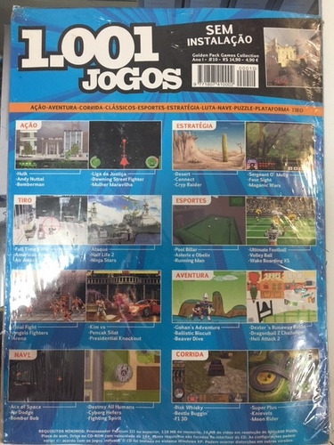 revista games collection 1001 jogos ano1 #10 pc digerati