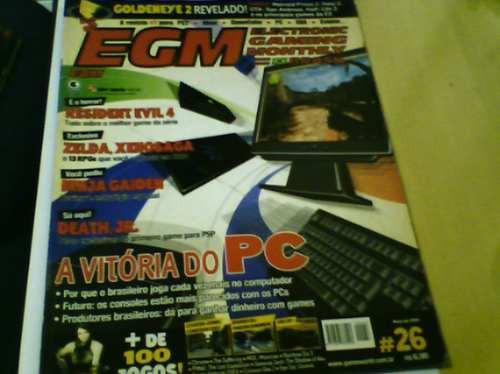 revista games egm n°26 ninja gaiden estratégia