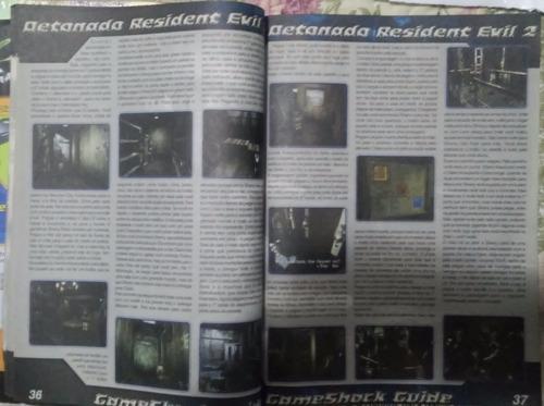 revista gameshock nº 06 resident evil 1, 2 e 3 (detonados)