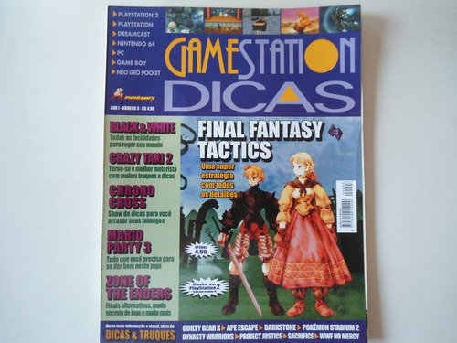 revista gamestation final fantasy tatics