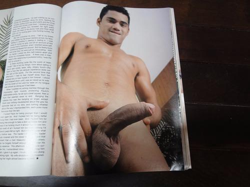 revista gay importada inches - jul 2006 - excelente estado