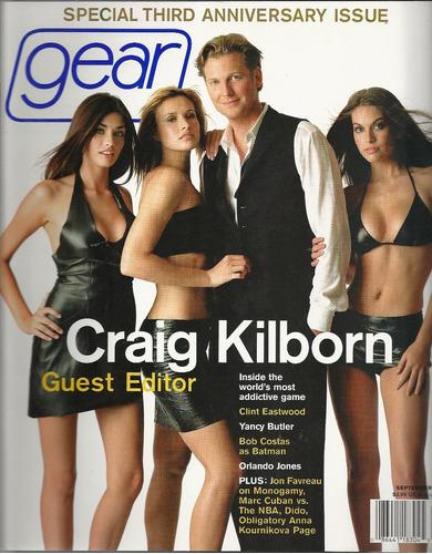 revista gear: craig kilborn / cantora dido / ana kournikova