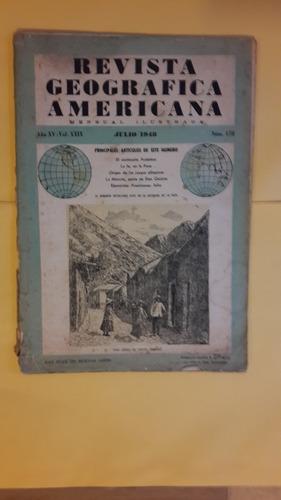 revista geografica americana 1948, 50 pag