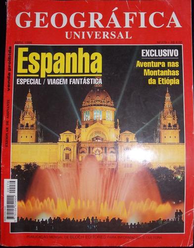 revista geografica universal