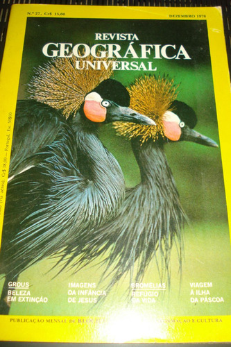 revista geográfica universal dezembro 1976