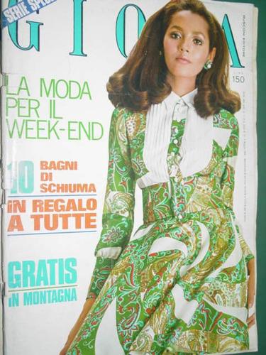revista gioia 19/69 italia ropa moda costura vintage fashion