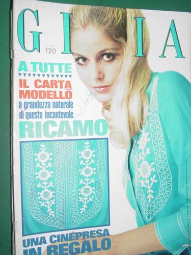 revista gioia 32/68 italia ropa moda costura vintage fashion