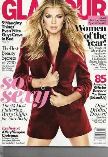 revista glamour: fergie / cher / sofia coppola / versace