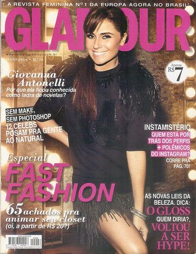 revista glamour giovanna antonelli nº 26 maio de 2014.