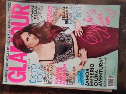 revista glamour portada dulce maria de coleccion