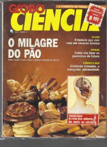 revista globo ciência - n 11 - ano 1 - ed globo