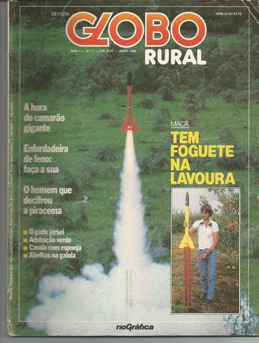 revista globo rural - nº 7 - outubro 1986.