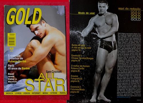 revista gold sam crockett( ato pornô ) r$ 25,00 frete gratis