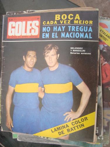 revista goles 1144 8/12/70 garcia cambon anzarda pipastrelli
