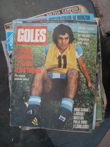 revista goles 1251 26/12/72 bargas bordeu monzon sin poster