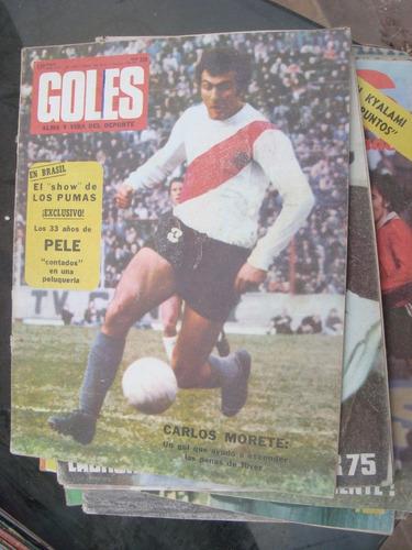 revista goles 1293 23/10/73 nasif poster: los pumas voglino