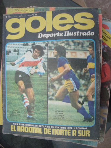 revista goles 1332 23/7/74 morete trobbiani sivori carnevali