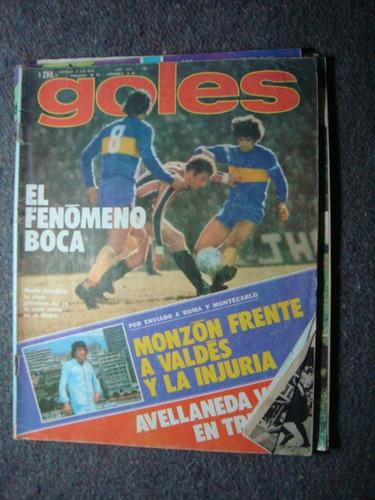 revista goles 1488 26/7/77 adios a erico carrascosa monzón