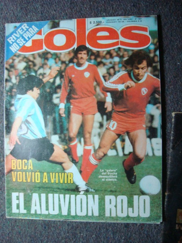 revista goles 1601 4/9/79 indep vs racing piazza arce pastor