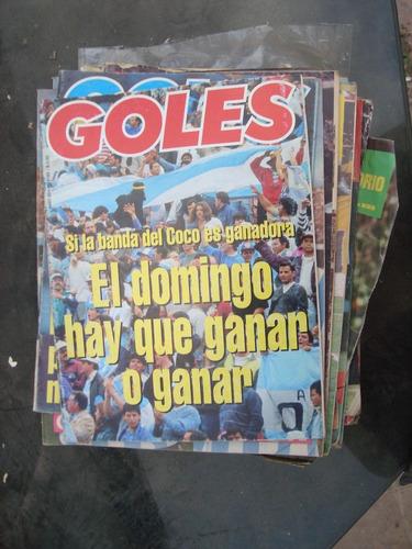 revista goles 1782 argent 0 paraguay 0 poster: zapata