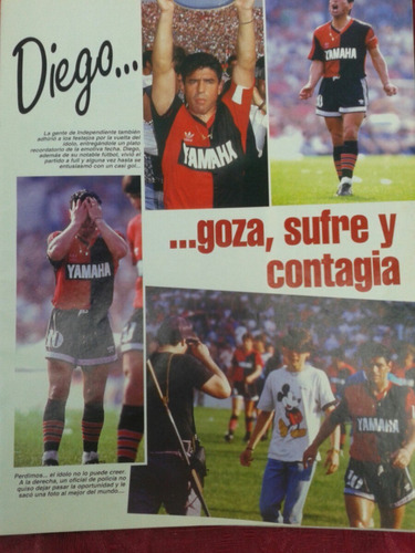 revista goles diego maradona en newells old boys