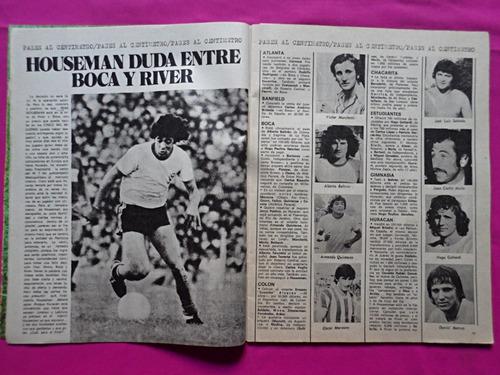 revista goles n° 1439 año 1976 serie exclusiva boca y yo