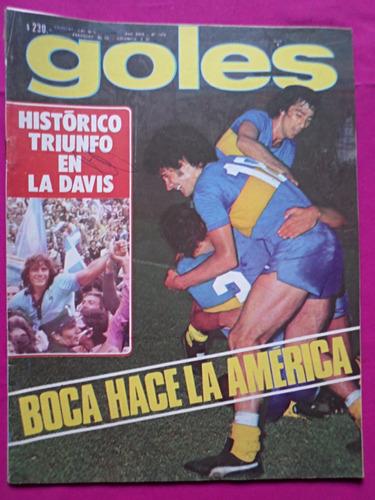 revista goles n° 1476 año 1977 boca river vilas y cano
