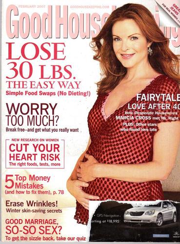 revista good housekeeping: marcia cross desperate housewives