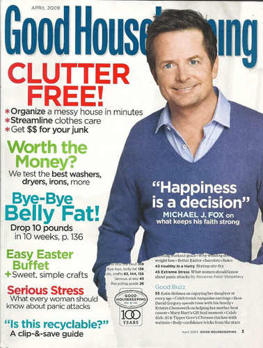 revista goodhouse: michael j. fox / david gregory